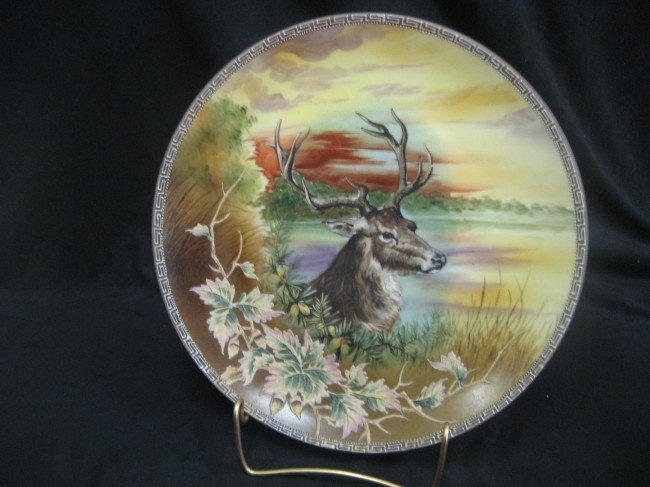 10: Nippon Blue M with wreath plaque with Christmas dee