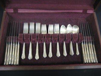 298: Oneida Community Engagement sterling silver flatwa