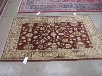 170: Genuine Peshawer Pakistani Agra rug.