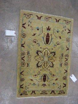 171: Genuine Peshawer Pakistani Agra rug.