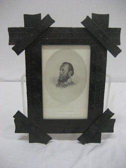 172: Framed print of Lt. Gen. T.J. Jackson, marked O'Ne