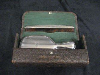 183: Gorham 2 pc. sterling silver dresser set.