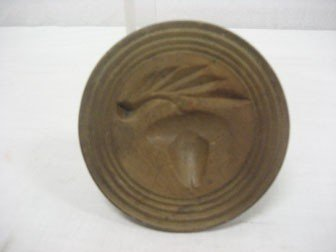 188: Acorn butter stamp.