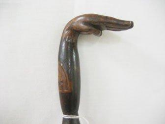 6: Cane/walking stick:  Presentation cane to Senator Jo