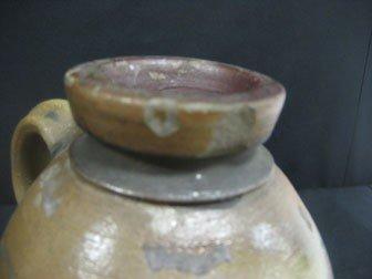 "89: Fine 9 1/8"" cobalt decorated snuff jug with three c - 4"