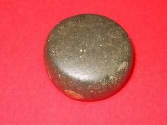 "210: 2"" Very Fine Polished Hardstone Discoidal - Northe - 2"