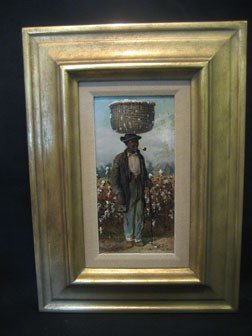"34: William Aiken Walker oil on board painting of a ""Co"