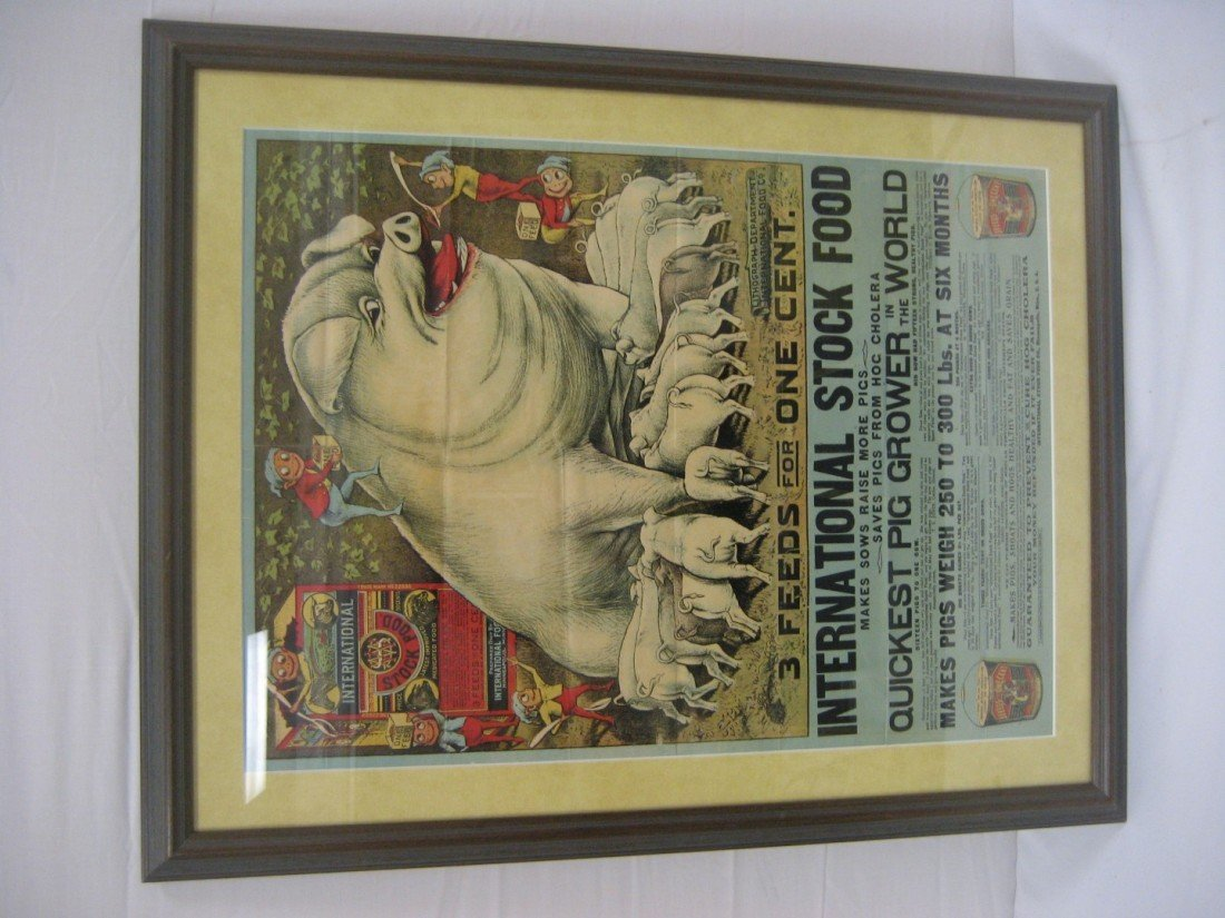 52: International Stock Food framed poster with Palmer