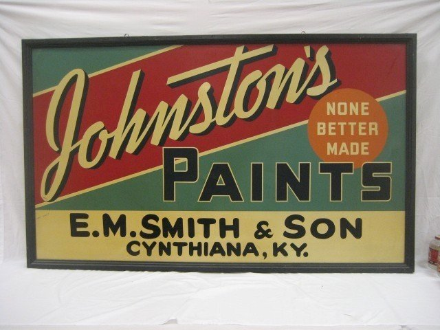 21: Johnston's Paint - None Better Made - E.M. Smith &