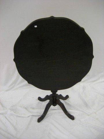 14: Limberts Arts & Crafts tilt top table in a dark fin