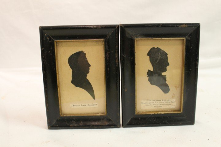 16: Silhouettes of William Orear Blackerly and Ann Whit