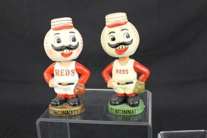 Cincinnatti Reds bobble head dolls:  1962 with green ba