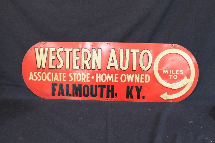 Western Auto Associate Store - Home Owned 9 Miles Falmo
