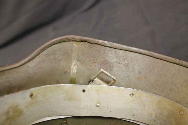 German helmet, possible Navy, with original decal.  Ill - 4