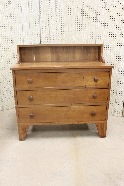 Exceptionally rare Shaker infirmary chest.  Found in La