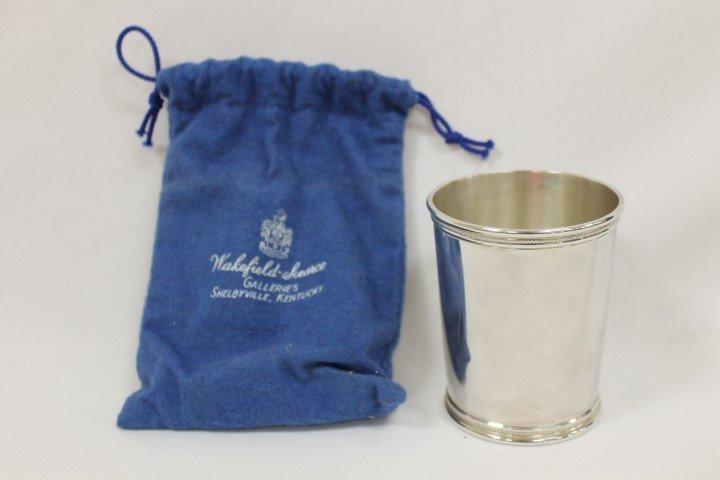 Mark Scearce Presidential sterling silver julep cup, 3