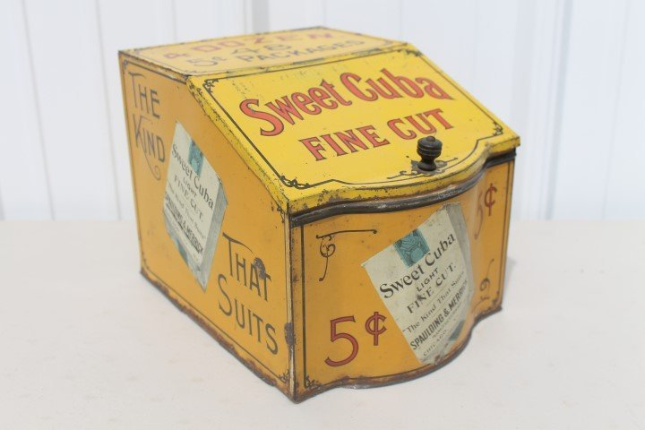 Sweet Cuba Light Fine Cut 48 5c Packages store bin.