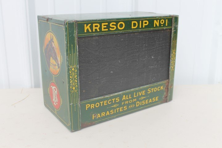"Kreso Dip No. 1 ""Protects All Live Stock From Parasites"