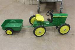 Ertl John Deere 7020 articulated pedal tractor and