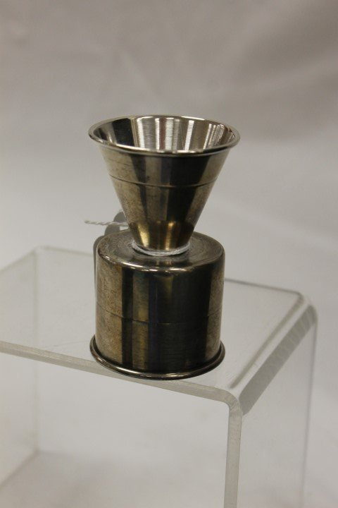 Frank Smith sterling silver double jigger