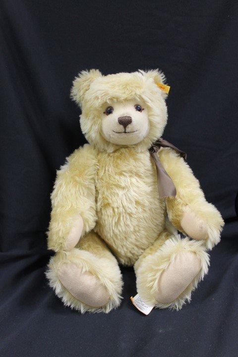 Original Steiff Teddy bear, 0220/55, with tags, button