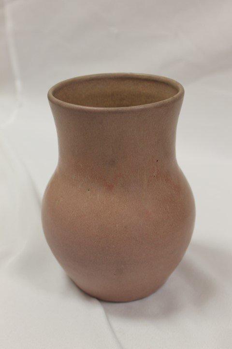 """Hand Made Waco KY bulbous 7"""" vase"""