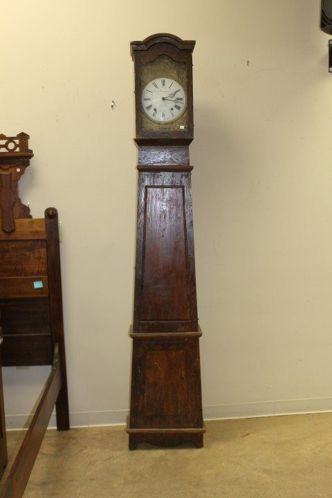 French Country cottage style grandfather clock with