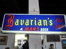 Bavarians Old Style Beer - A Man's Beer light up