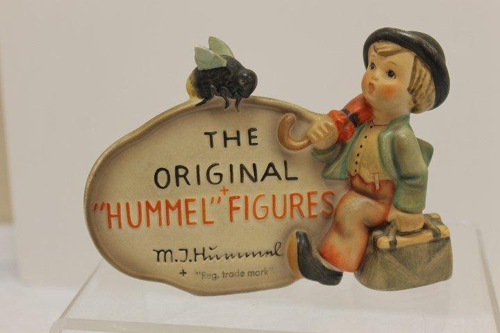 Hummel Store or Display plaque, 187, TMK2, Western