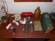 """(17) items: Our House book, Texaco Truck 8"""", 5"""" and 6"""""""