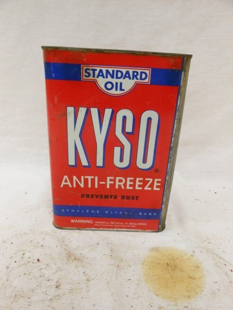 KYSO (Kentucky Standard Oil) 1-Gallon Anti-Freeze can,