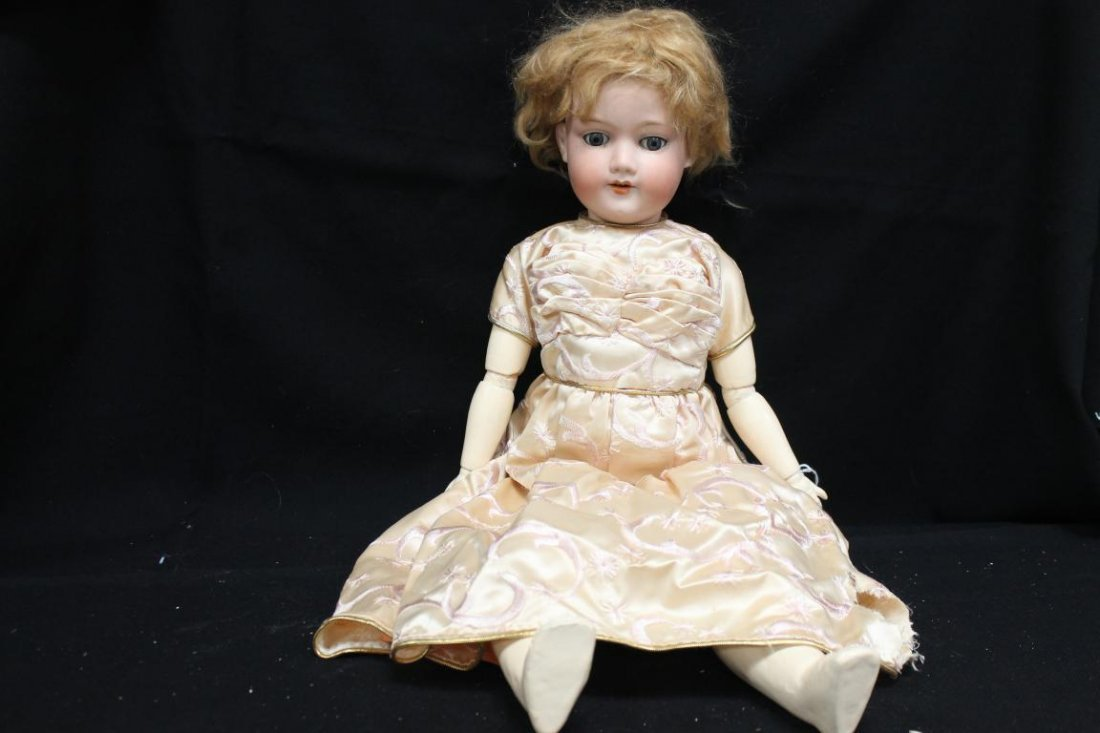 """24"""" Armand Marseille 390 Germany bisque head doll with"""