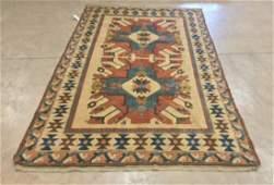 """Genuine Turkish Kars Kazak 7' 1"""" X 10'10"""" rug."""