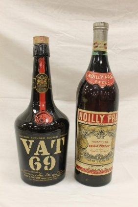"Noilly Prat Sweet Vermouth Display Bottle, 19 1/2"","