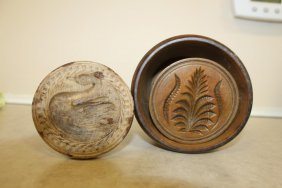 Maple Butter Mold With A Deep Cut Leaf Form Similar To