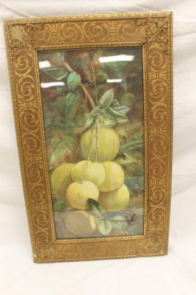 William T. Hunleigh (kentucky 1846-1916) Water Color Of