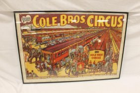 Cole Brothers Circus Poster - America's Favorite Show