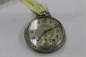 Waltham 12 Sze Pocket Watch In 10k Gold Filled Illinois