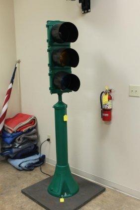 Chicago Electrified Original Street Traffic Light,