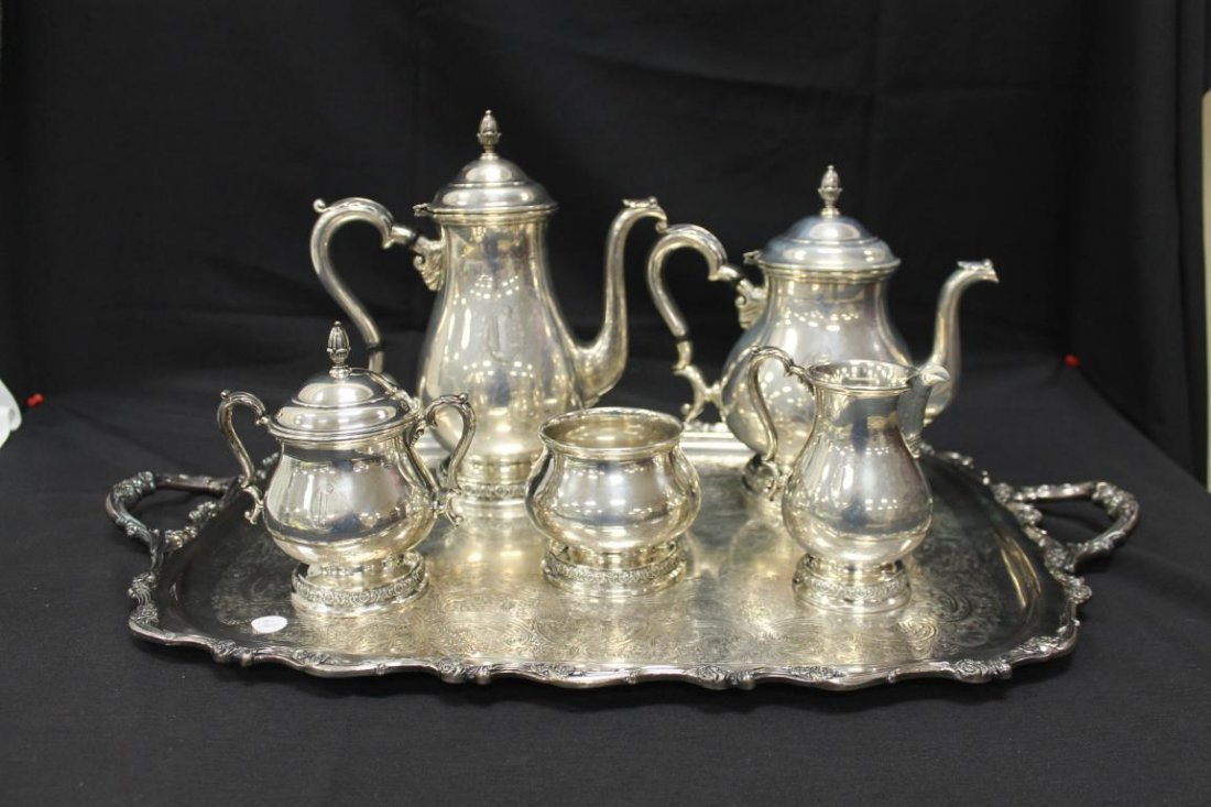 International Prelude sterling silver coffee and tea - 2
