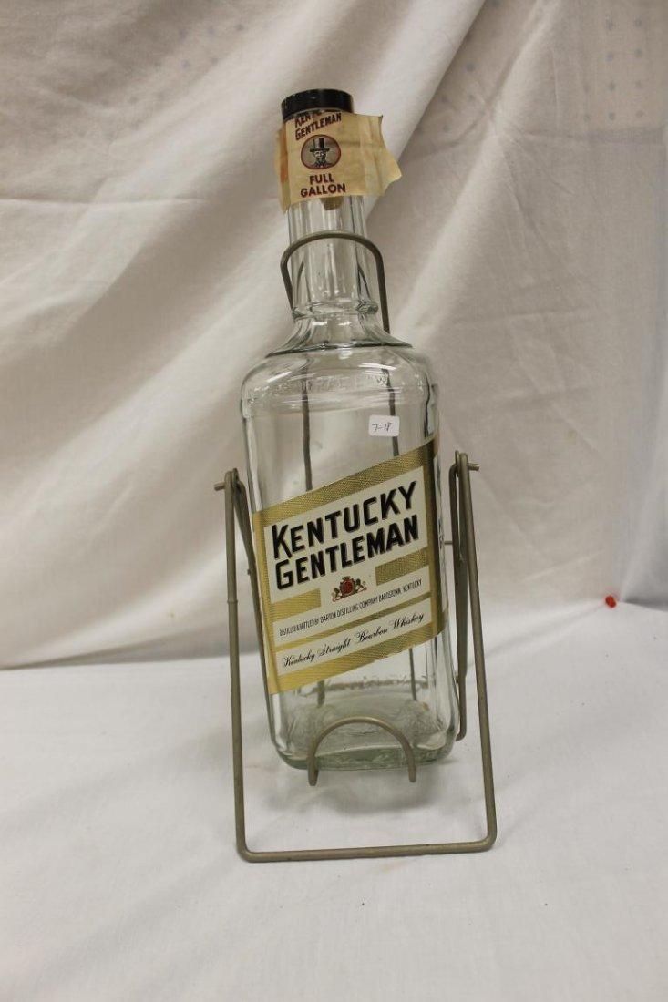 Kentucky Gentleman One Gallon Whiskey bottle with
