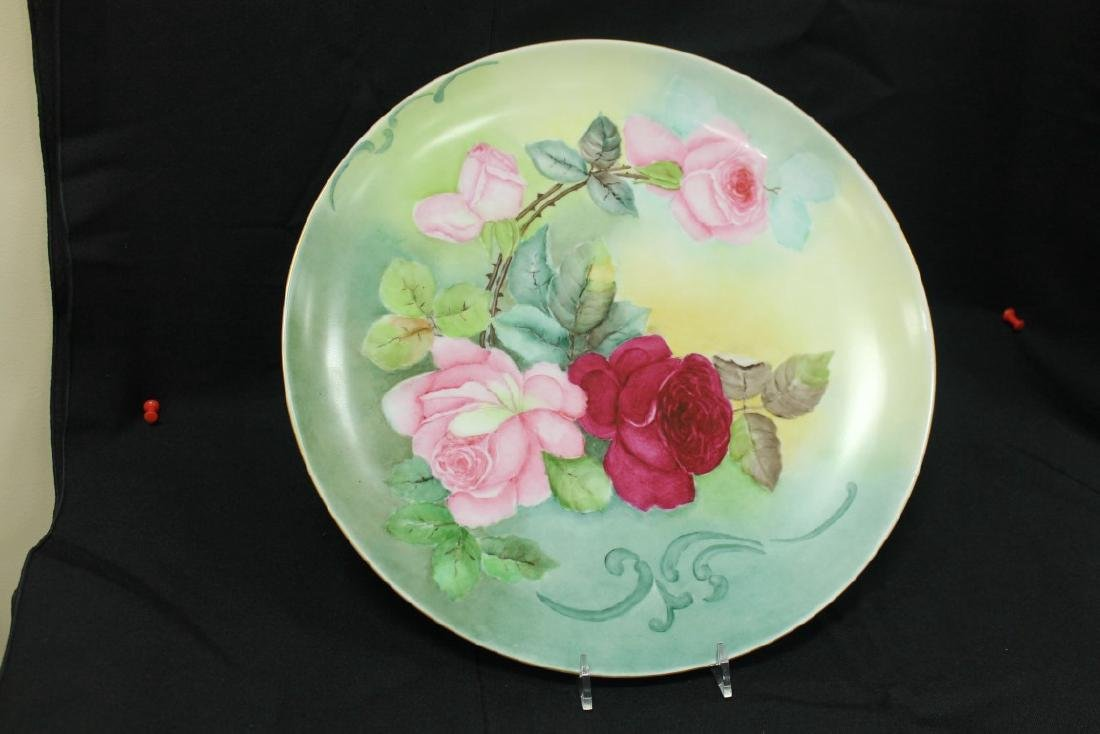 """Hutschenreuther Selb Bavaria Germany 13 1/4"""" charger"""