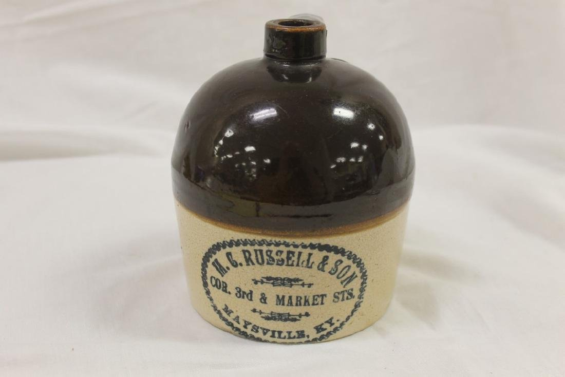 1 quart M. C. Russell & Son Cor. 3rd & Market Sts.