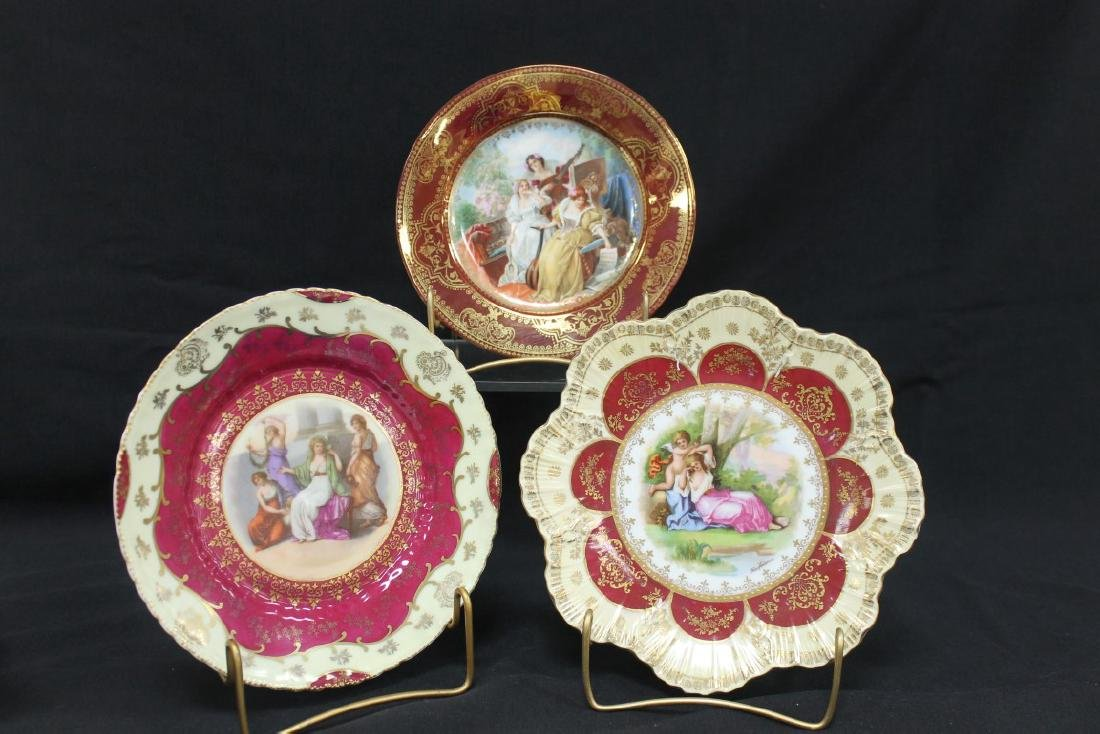 """Beehive Austria (2) marked plates including 8 3/4"""""""