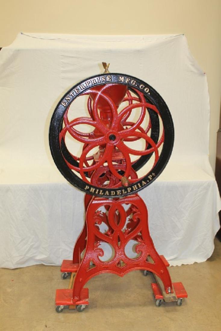Enterprise Mfg. Co. floor model coffee mill/grinder
