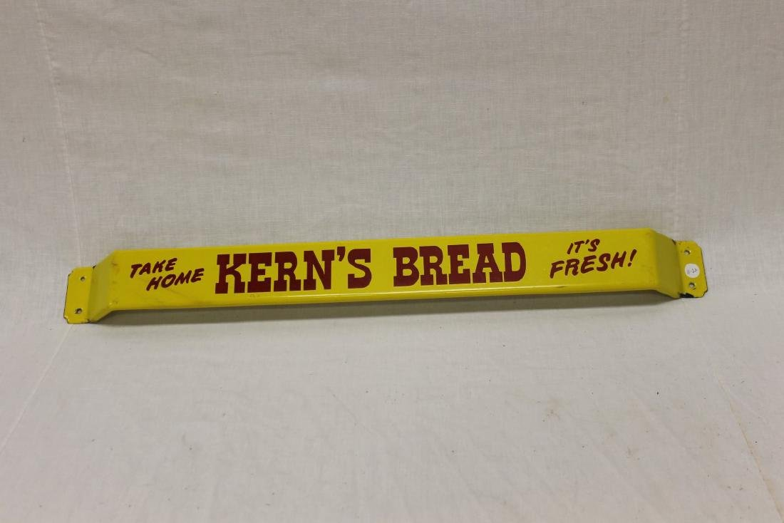 "Kern's Bread door push ""Take Home Kern's Bread It's"