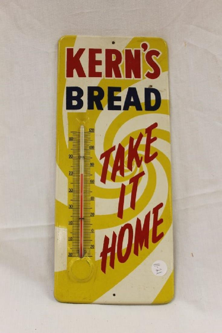 "Kern's Bread Take It Home thermometer, 5 3/4"" X 13 1/2"""