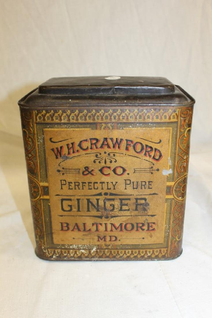 W.H. Crawford & Co. Perfectly Pure Ginger Baltimore,