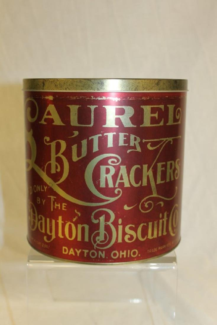 Laurel Butter Crackers mf'd by the Dayton Biscuit Co.