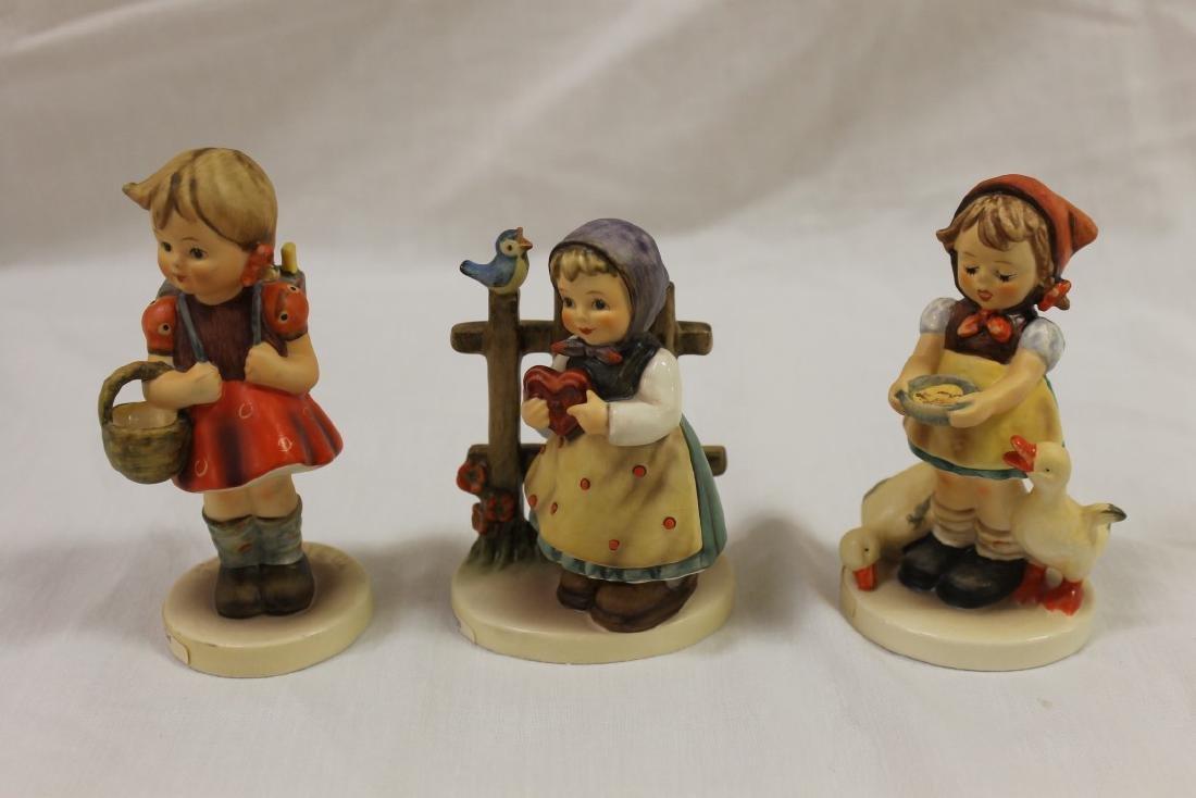"Hummell figurines:  School Girl, 81/0, TMK 6, 5""; Sweet"